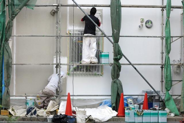 外壁塗装をする業者