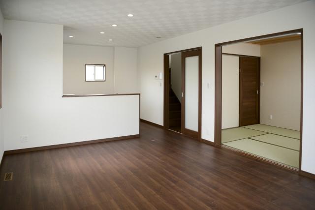 原状回復された部屋